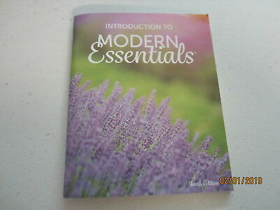 Intro to Modern Essentials Oils Booklet - 10 Edition Newest doTerra