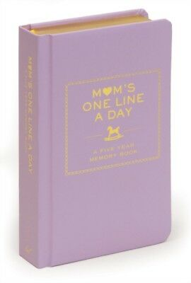 Mom's One Line a Day: A Five-Year Memory Book (Diary)