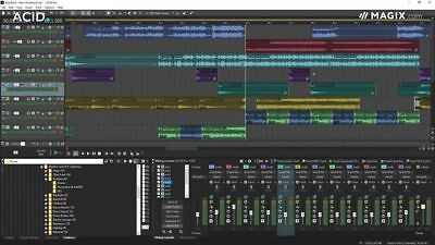 Magix Acid Pro 8 Pro Loop-based music creation DAW
