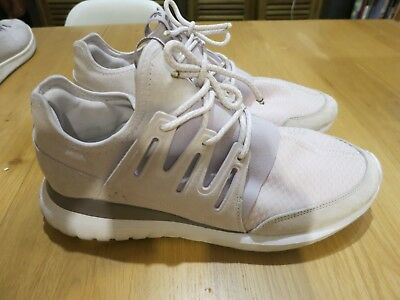 2a6313a68db Men s Adidas Originals Tubular Radial Pk Shoes  S76714  Vintage White