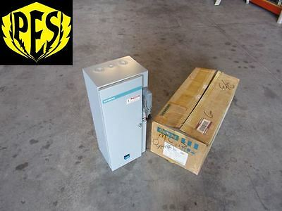 New Siemens Scf-B10 30 Amp 480V Size 0 3 Phase N1 Combination Starter Fused Disc