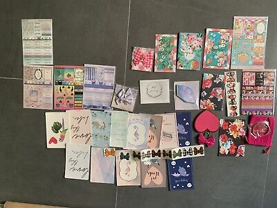 Simply Gilded Kit Parts Galaxy Peach Floral Bows New *Huge Lot* Bracelet