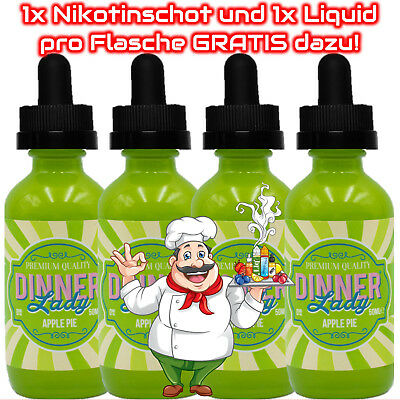 Dinner Lady Apple Pie E-Liquid 50ml 1x / 2x / 3x / 4x Sparset