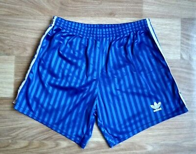 ADIDAS VINTAGE SHORTS 1980s' size D6 (M) MADE IN YUGOSLAVIA