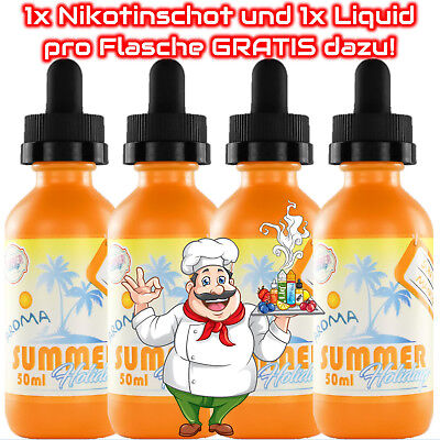 Dinner Lady Sun Tan Mango E-Liquid 50ml 1x / 2x / 3x / 4x Sparset