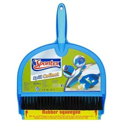 Spontex - Spill Collect Dustpan and Brush  •FAST DISPATCH•