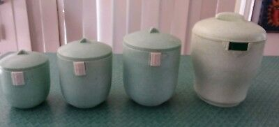 Vintage Cannister Set Of 4. Good Condition.