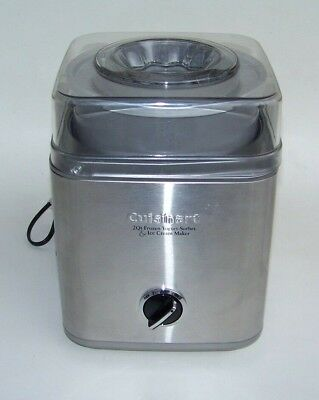 Cuisinart ICE 30BC 2 Qt Automatic Frozen Yogurt Sorbet Ice Cream Maker Stainless