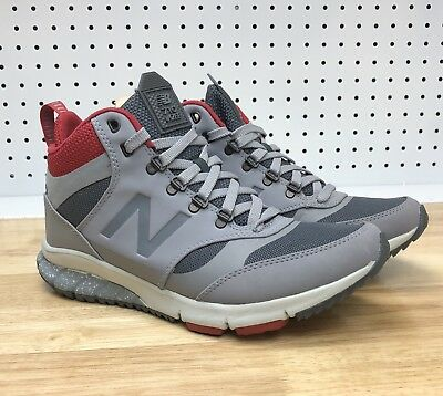 b11f907bedc81 New Balance 710 Vazee Outdoor Mens Hiking Boots Sneakers HVL710AB Gray Red  Sz 7