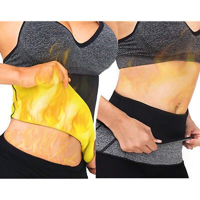 Hot Women Shapers Thermal Slim Sweat Belt for Belly Fat Burner Sauna Yoga Wrap
