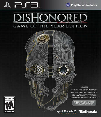 Dishonored - Game of the Year Edition - PS3 Digital Slot