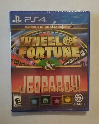 America's Greatest Game Shows: Wheel of Fortune & Jeopardy! - Ps 4 New.