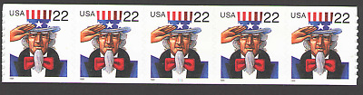 US. 3263. 22c. Uncle Sam Coil PNC5 #1111. MNH. 1998