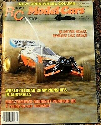 VINTAGE RC RADIO Control Model Cars Magazine September 1990