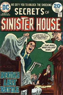 Secrets of Sinister House #17 in Very Fine minus condition. DC comics [*0q]
