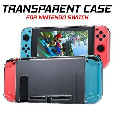 Transparent Clear Shockproof Protective Hard Case Cover For Nintendo Switch UK