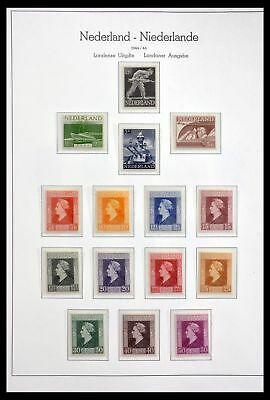 Lot 29806 Collection stamps of the Netherlands 1944-1981.