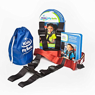 AmSafe CARES Kids Fly Safe Airplane Seat Harness for Children ~ the Only Child