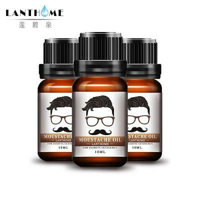 3pcs Lanthome Shape Beard Grooming Moustache Oil Beard Products Beard Oil And Co