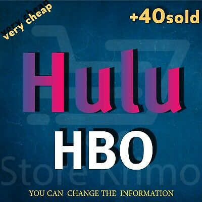 Hulu HBO Premium Account NOT SHARED  WARRANTY INSTANT DELIVERY 24/7 SUPPORT