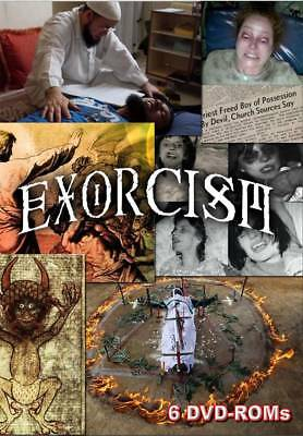 15% off! Exorcism - documents and multimedia - 6 DVD-ROM  box