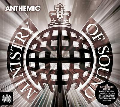 Anthemic - Ministry Of Sound New 2 CD Set / Free Delivery Rag'n'Bone Man Hozier