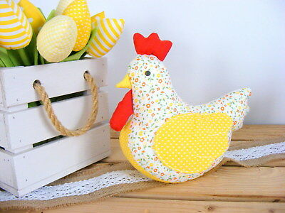 Easter chicken HANDMADE,Easter decor, Easter table decor,Toy chicken decoration