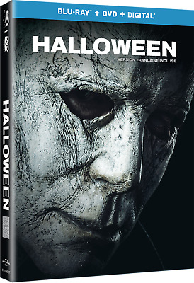 HALLOWEEN (2018) [Blu-ray+DVD+Digital Copy] New !!