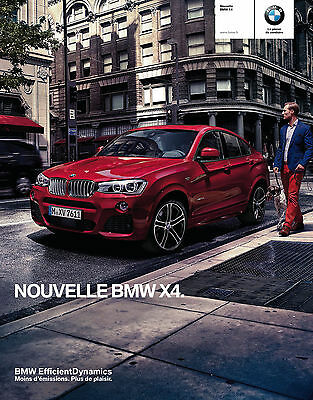 CATALOGUE BMW X4 - 2014  (52 pages)