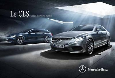 CATALOGUE MERCEDES CLASSE CLS COUPE SHOOTING BRAKE 06-2015 (76 pages)