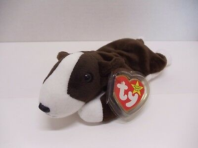 b53697dd7e0 Ty Beanie Baby ~ BRUNO the Terrier Dog ~ MINT with MINT TAGS ~ RETIRED