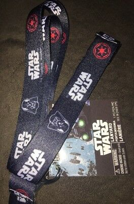 "New Disney Star Wars 18.5"" Lanyard GREAT FOR COLLECTING PINS!"