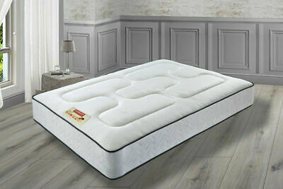 "New Memory Foam Mattress - Thickness: 8"", 10"", 12"" - Size: 3ft, 4ft, 4ft6, 5ft"