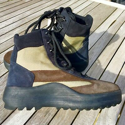 a4e42f84f YEEZY SEASON 5 Oil Nylon Thick Suede Military Boots New -  400.00 ...