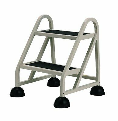Cramer Stop Step 1020 Mighty Life Ladder - 2 Step - 300 Lb Load Capacity - 21.5""