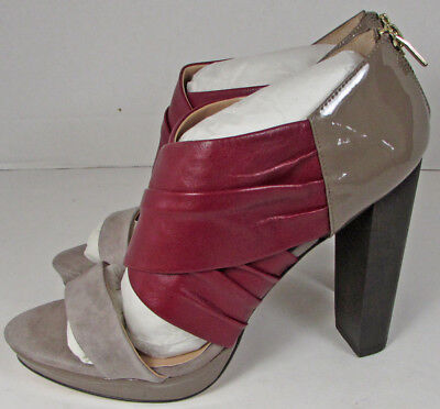 0316f74ab9bc CHARLES DAVID SUEDE Dark Brown Stiletto Heels Size 8 1 2  worn only ...