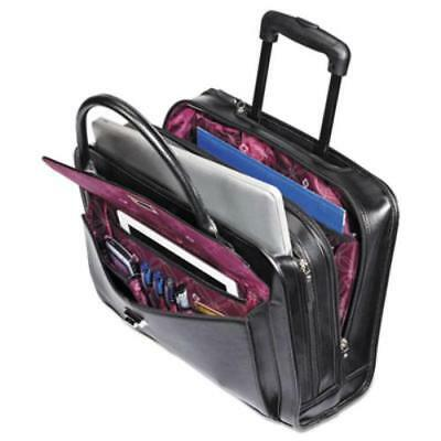 "Samsonite Ladies Business Carrying Case For 15.6"" Notebook - Black, Mulberry -"