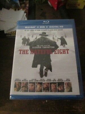 The Hateful Eight Blu-ray DVD 2016 2 Disc Set + Digital Copy New Sealed Russell