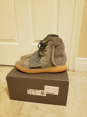 competitive price cde05 706ec Adidas Yeezy Boost 750 Grey Gum Size 10.5 Pre Owned Kanye West