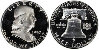 1957 Franklin Half Dollar Choice Proof