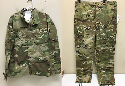 Army Issued Multicam W-2 Ocp Scorpion Uniform Set Trousers And Jacket Ms Nwt