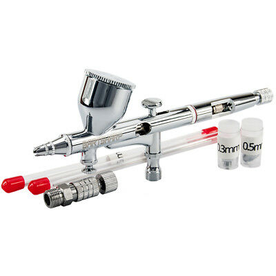 Airbrush Kit Dual Action Airbrushing Kit Airbrush Gun Airbrush Gravity Feed .2mm
