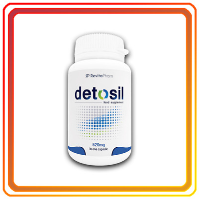 DETOSIL Natural Detox For The Body Packed IN BOX 30 capsules