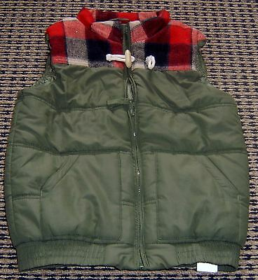 Cotton On Boys  Puffer Vest Sz 8