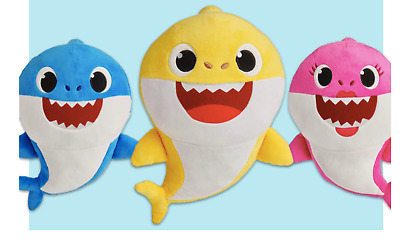 Pingfong Baby Shark Singing Plush Toy WowWee Official Product Brand New