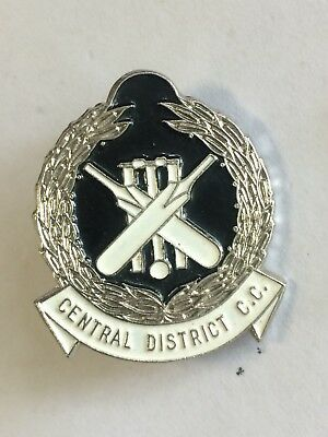 Central District Cricket Club Badge Pin Adelaide