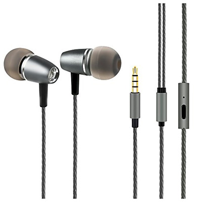 Audifonos Earbuds, Earbud Headphones with Microphone - Dynamic Clear Sound Ear
