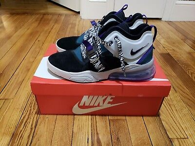 Nike AIR FORCE 270 'Carnivore' BLACK/COURT PURPLE Size 12