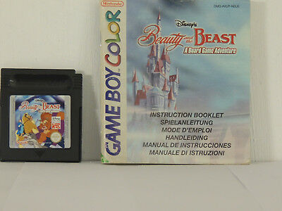 GB Color Game - Beauty and the Beast inkl. Spielanleitung   ...