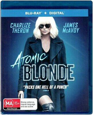 """ATOMIC BLONDE"" Blu-ray + Digital Copy - Region [B] Unwatched & Factory Sealed"